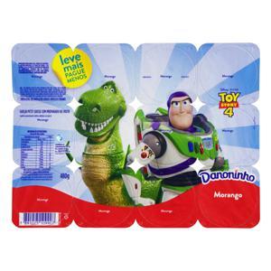 Petit Suisse Morango Toy Story 4 Danoninho Bandeja 480g 12 Unidades Leve Mais Pague Menos
