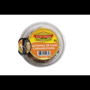 Castanha de Caju REI DAS CASTANHAS Caramelizada 90G