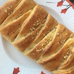 Pão com Damasco e Nozes 200g - Di Vó