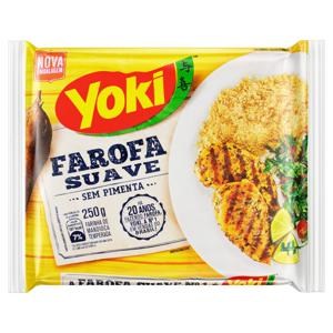 Farofa de Mandioca Pronta Suave Yoki Pacote 250g