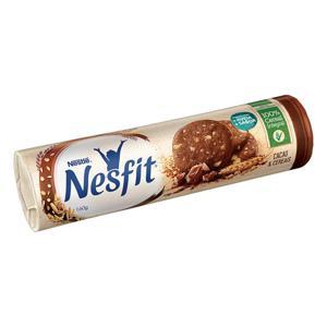 Biscoito Integral Cacau & Cereais Nestlé Nesfit Pacote 160g
