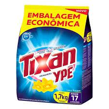 Lava-Roupas Em Po Tixan Ype Embalagem Economica 1,7Kg Sache Primavera