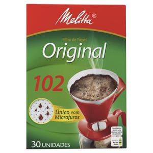 Filtro de Papel Original Melitta 102 Caixa 30 Unidades