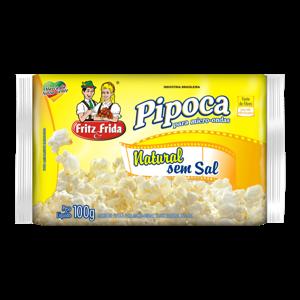 Pipoca Fritzefrida Micro.100G Nat.S Sal