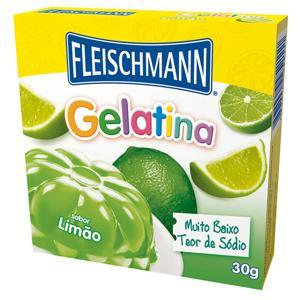GELATINA FLEISCHMANN LIMãO 20GR