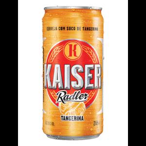 Cerveja Kaiser Radler 269Ml Lata Tangerina