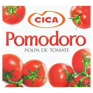 Polpa de Tomate Cica Caixa 520g