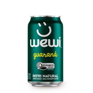 Refrigerante de Guaraná Orgânico WEWI Lata 350ml
