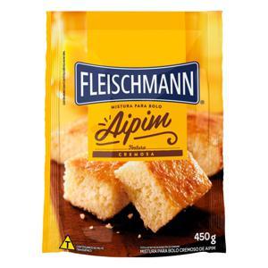 Mistura para Bolo Cremoso Aipim Fleischmann Sachê 450g