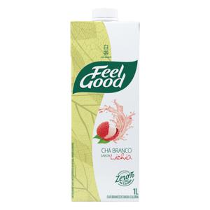 Chá Branco Lichia Feel Good Caixa 1l
