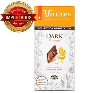 Chocolate Suiço Villars Amargo com Laranja 100G
