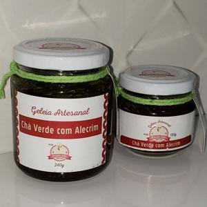 Geleia de Chá Verde com Alecrim 240g - Amanda Sales Confeitaria