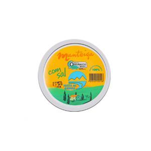 Manteiga Orgânica com Sal - 200g