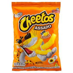Salgadinho de Milho Lua Parmesão Pacote Elma Chips Cheetos 51g
