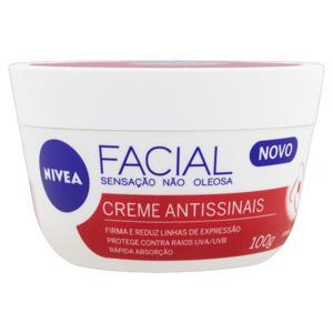 Creme Facial Nivea Antissinais 100gr