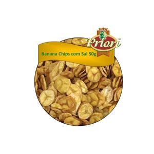 Banana Chips com Sal Priori 50g