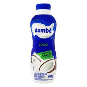 Iogurte Parcialmente Desnatado Coco Itambé Garrafa 900g