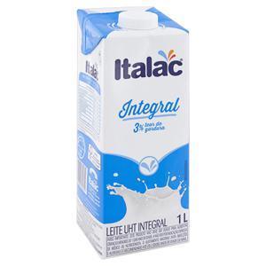Leite UHT Integral Italac Caixa 1l