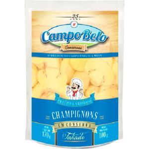 Cogumelo Champignons Fatiado CAMPO BELO Sachê 100g