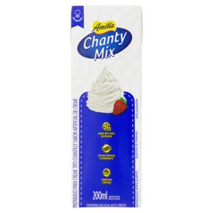 Chantilly Creme Amélia Chanty Mix Caixa 200ml