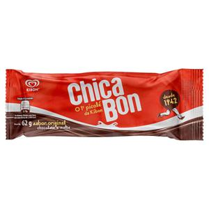 Picolé Chicabon Kibon Pacote 62g