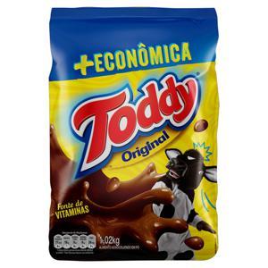 Achocolatado em Pó Original Toddy Pacote 1,02kg + Econômica