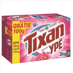 Lava Roupa Em Pó Tixan 2Kg - Grátis 100G
