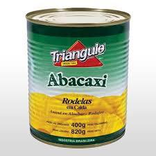 Doce Abacaxi Triangulo 400G