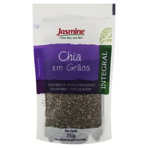 Chia em Grãos Integral Jasmine Pacote 150g