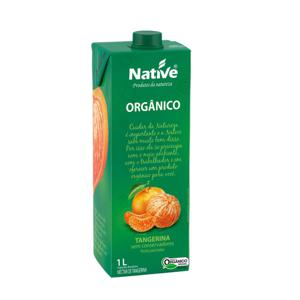 Suco de tangerina orgânico Native - 1 L