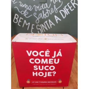 Suco Comestível Kit Semanal (7 porções individuais) NATURI