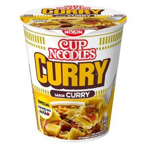 Macarrão Instantâneo Curry Nissin Cup Noodles Copo 70g