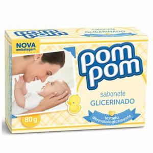 Sabonete Pom Pom Glicerinado 80G