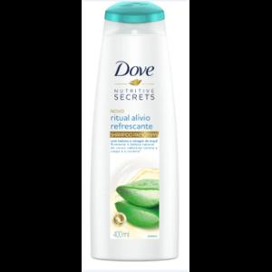 Shampoo Dove 400ml Nutritive Secrets Ritual Alívio Refrescante Anticaspa