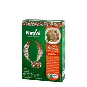 Flocos de quinoa orgânica 200g - Native
