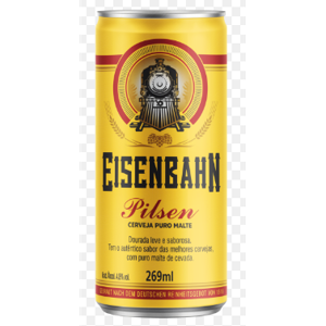 Cerveja Eisenbahn 269ml Pilsen Puro Malte