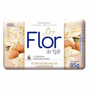 Sabonete Flor De Ype Suave 85G Baunilha/Amendoim