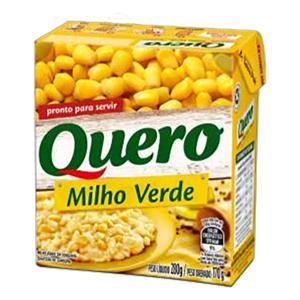 Milho Verde em Conserva Quero Caixa 170g