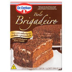 Mistura para Bolo Brigadeiro Dr. Oetker Caixa 450g