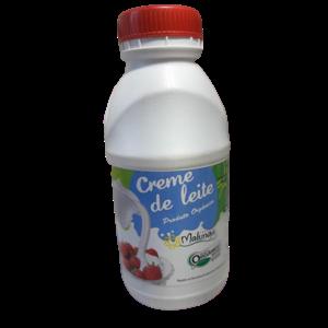 Creme De Leite  Orgânico - Malunga (500ml)