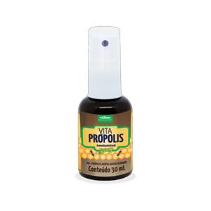 Aromatizante bucal spray com mel, própolis, menta, malva e gengibre Vita Própolis - 30ml