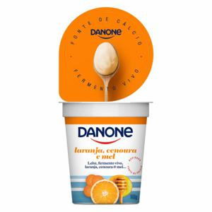 Iogurte Danone Natural Laranja Cenoura e Mel 160G
