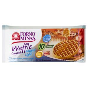 Waffle Integral Light Forno de Minas Pacote 210g 6 Unidades