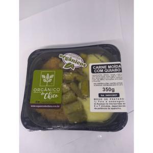 Carne Moida Com Quiabo 320g - Orgânico do Chico