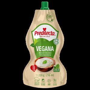Molho Vegano Predilecta 220G Maionese