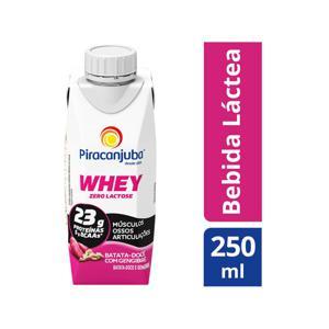 Bebida Láctea Whey Piracanjuba Batata Doce c/ Gengibre 250ml