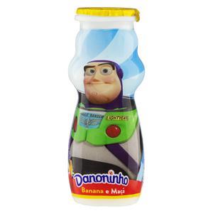 Iogurte Integral Banana e Maçã Toy Story 4 Danoninho Frasco 100g