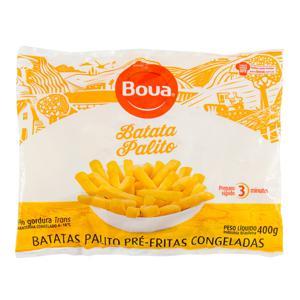 Batata Pré-Frita Palito Congelada Boua Pacote 400g