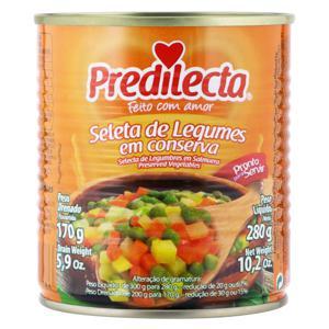 Seleta de Legumes em Conserva Predilecta Lata 170g