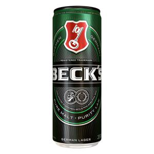 Cerveja German Lager Puro Malte Beck's Lata 350ml